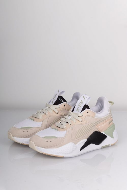 Puma sneakers RS-X Reinvent Whisper White Sand Black Front