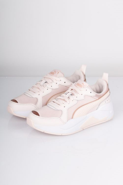 Puma Sneakers X-Ray Metallic Wn's Rosewater-Rose/Gold-White Front