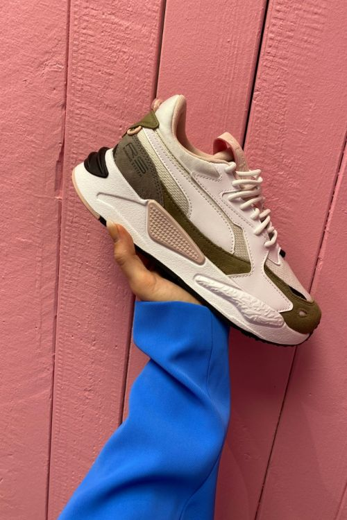 Puma - Sneaks - RS-Z Reinvent WNS White Lotus - Sand/rosa