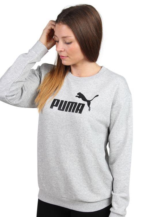 Puma - Sweatshirt - Crew Sweat TR W - Gray