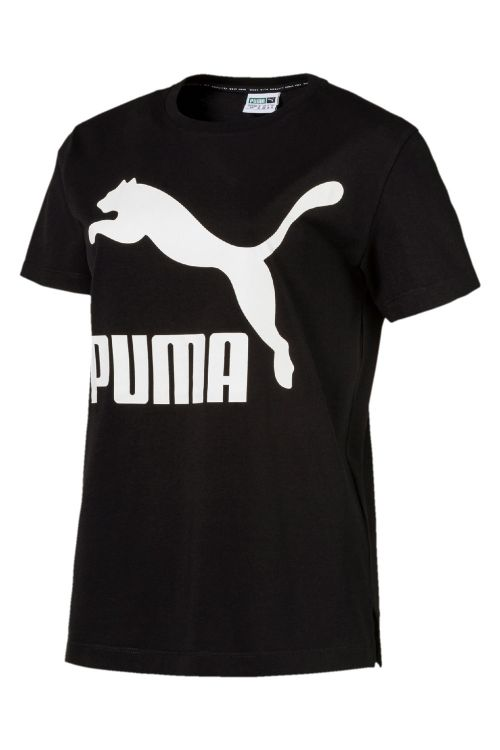 Puma - T-shirt - Classics Logo Tee - Black