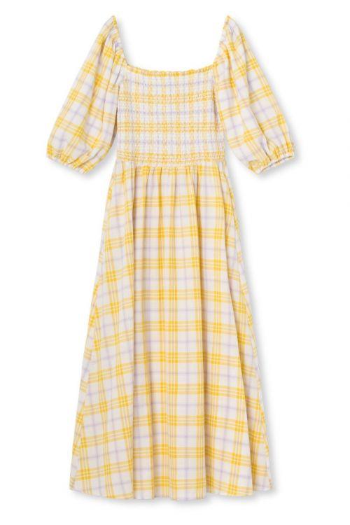 Résumé - Kjole - Ebony Dress - Yellow