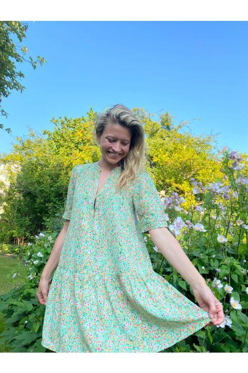 Jacqueline de Yong - Kjole - Urban 2/4 Short Dress - Jade Cream