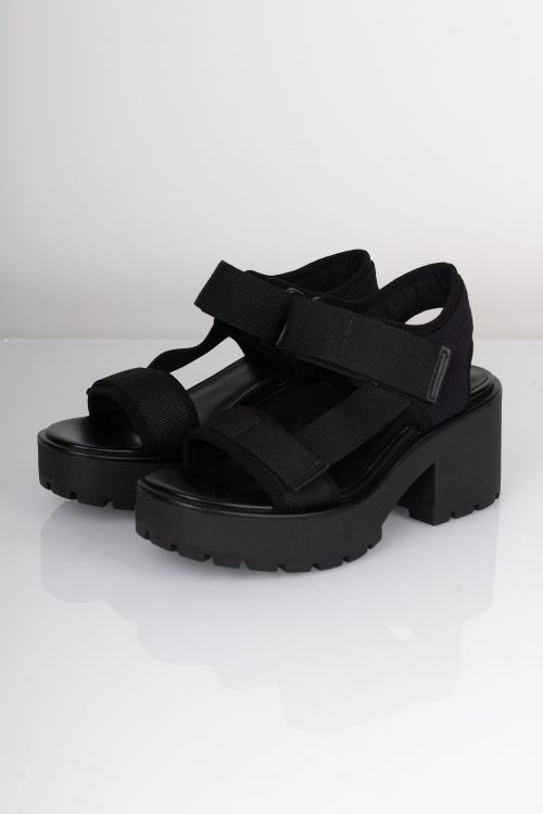 Vagabond Sandal Dioon Black 080 Front