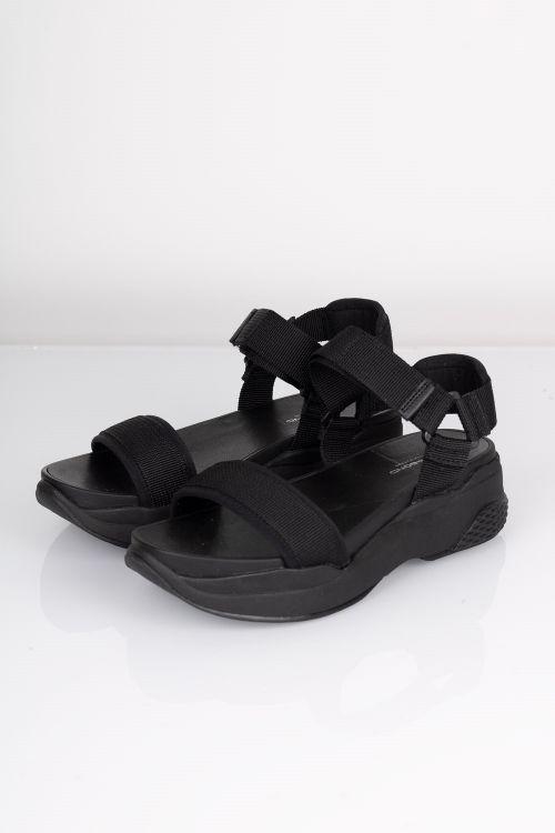 Vagabond Sandal Lori Black Black Front