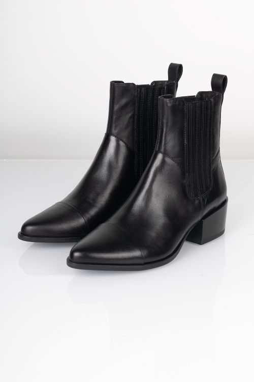 Vagabond Støvler Marja High Black Front