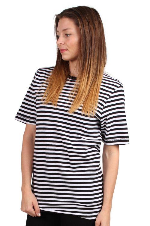 Lykke By Lykke - T-shirt - Lucky T-shirt - Black/White