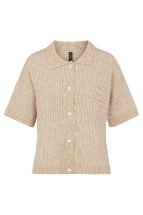 Y.A.S - Cardigan - Alva 2/4 Knit Cardigan - Cuban Sand