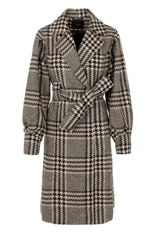 Y.A.S - Jakke - Ponga LS Wool Coat - Black