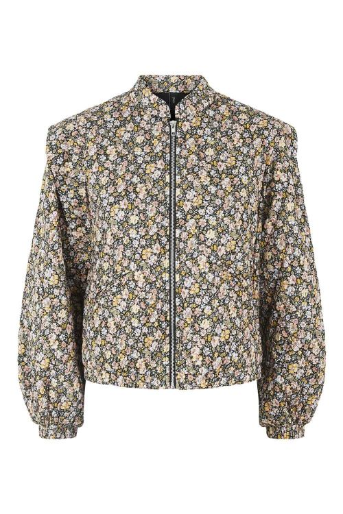 Y.A.S Jakke Yetta LS Quilted Bomber Jacket Black/Yetta Hover