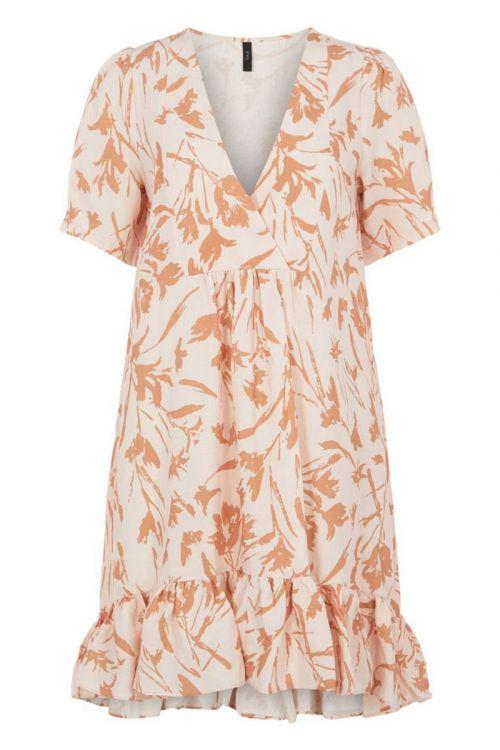 Y.A.S - Kjole - Dooda SS Dress - Whisper Pink
