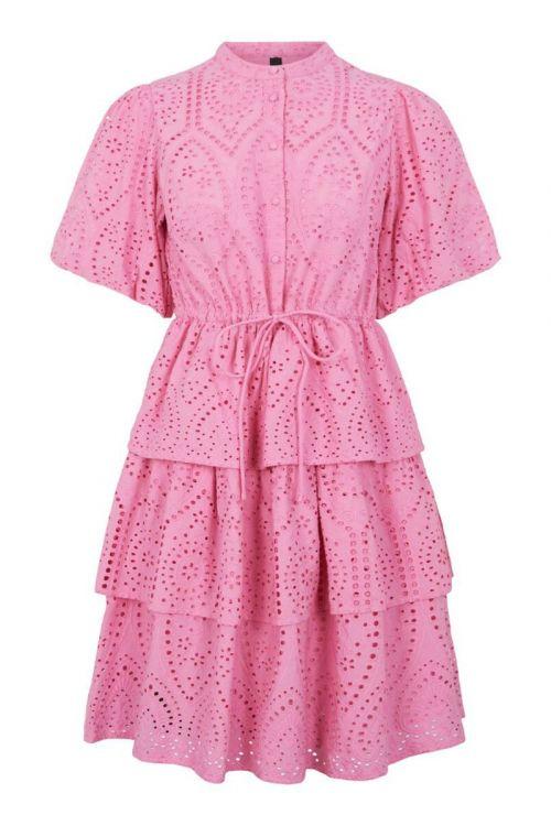 Y.A.S - Kjole - Josefine 2/4 Dress - Fuchsia Pink