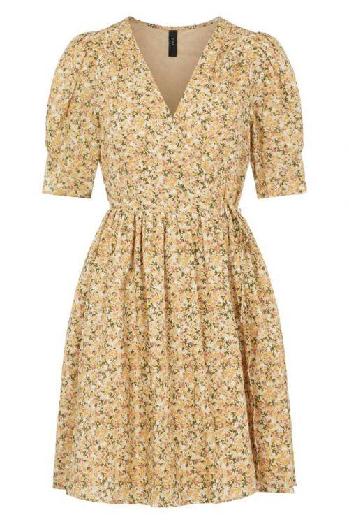 Y.A.S - Kjole - Lagi 2/4 Wrap Dress - Humus