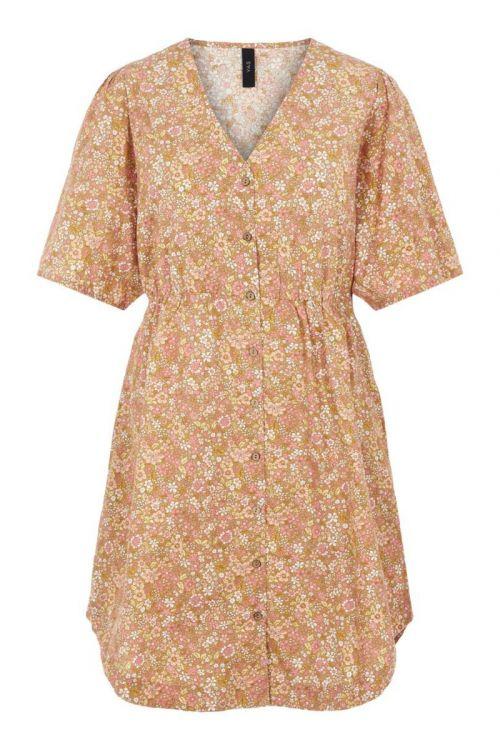 Y.A.S - Kjole - Mima 2/4 Shirt Dress - Tan
