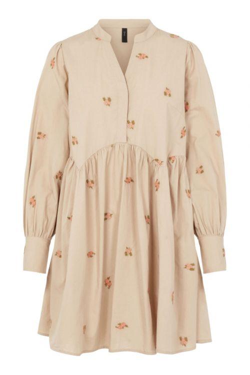 Y.A.S - Kjole - Ovi LS Dress - Nomad