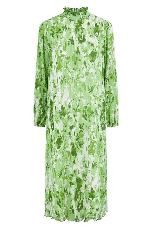 Y.A.S - Kjole - Pippa LS Midi Dress - Irish Green