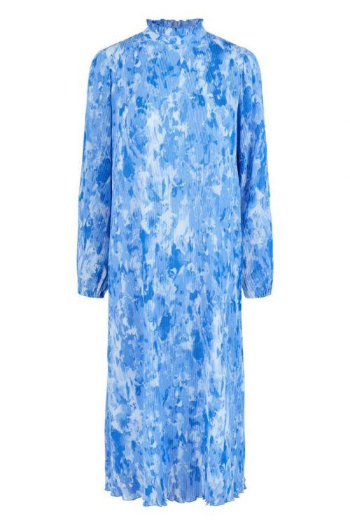 Y.A.S - Kjole - Pippa LS Midi Dress - Strong Blue