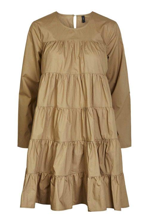 Y.A.S Kjole Shilo LS Dress Ermine Front