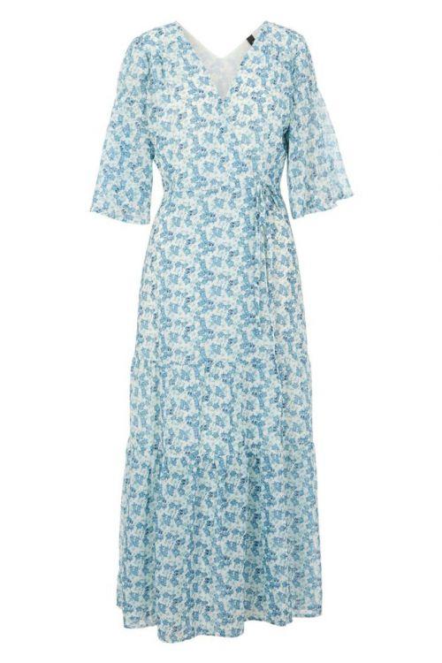 Y.A.S - Kjole - Susla 2/4 Wrap Dress - Show Eggnog