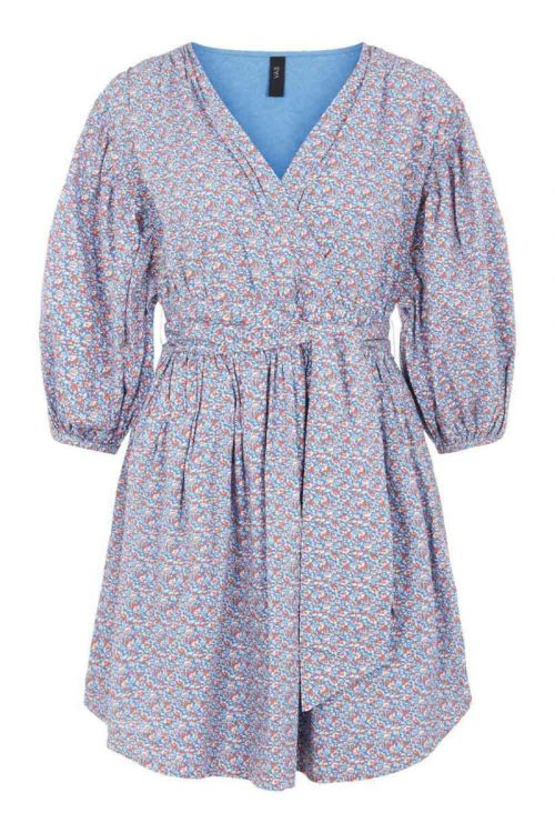 Y.A.S - Kjole - Tassa 3/4 Dress - Parisian Blue