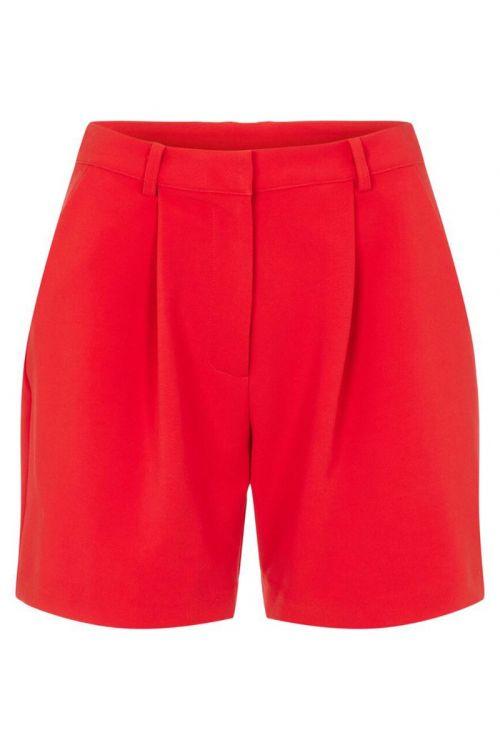 Y.A.S - Shorts - Dorothy HW Shorts - High Risk Red