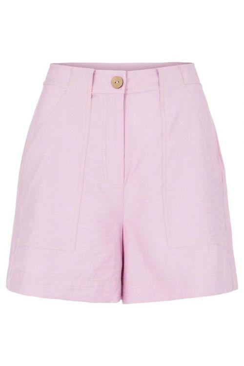 Y.A.S - Shorts - Leno HW Shorts - Pastel Lavender