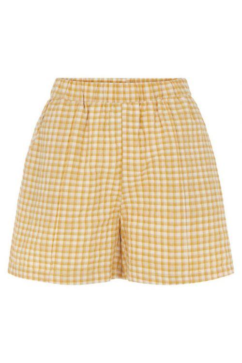 Y.A.S - Shorts - Sturi HW Shorts - Tan