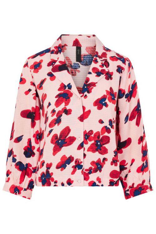 Y.A.S - Skjorte - Bamelia 3/4 Shirt - English Rose