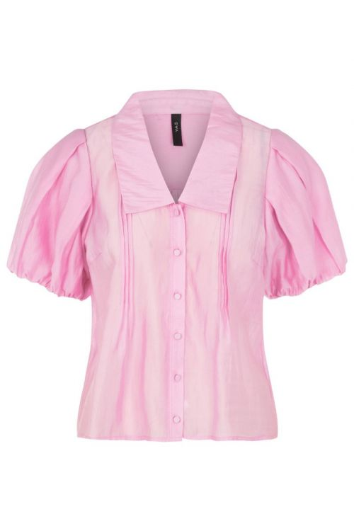 Y.A.S - Skjorte - Elvana 2/4 Shirt - Lilac Chiffon