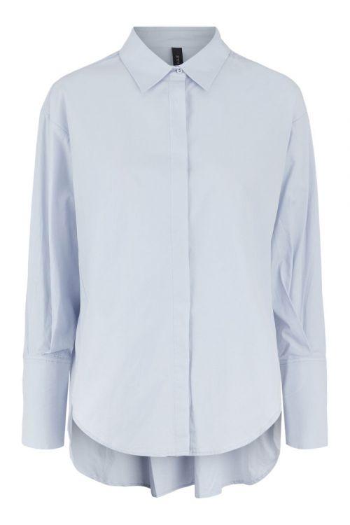 Y.A.S - Skjorte - Hilda LS Oversize Shirt - Arctic Ice