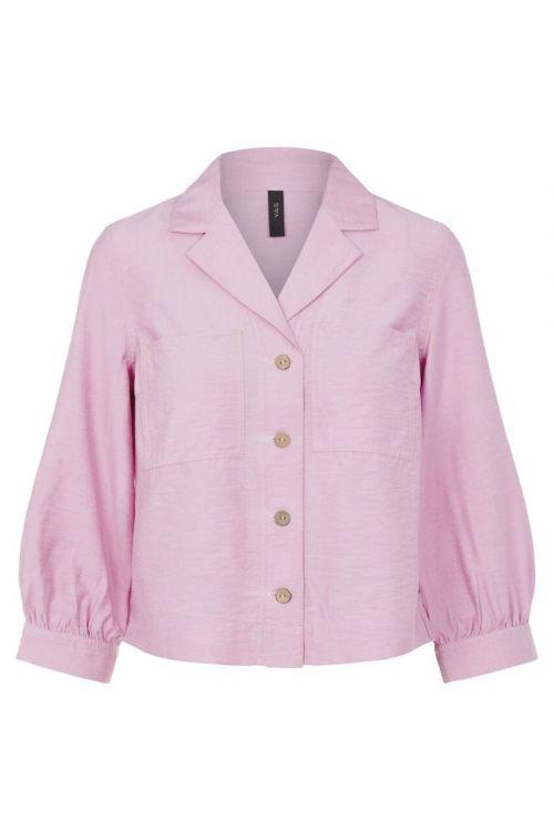 Y.A.S - Skjorte - Leno 3/4 Shirt - Pastel Lavender
