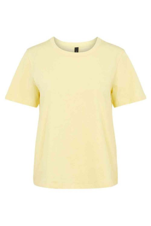 Y.A.S - T-shirt - Sarita O-neck Tee - French Vanilla