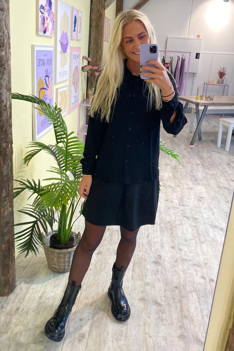 Jacqueline de Yong - Skjorte - JDY Brooke LS Shirt - Black