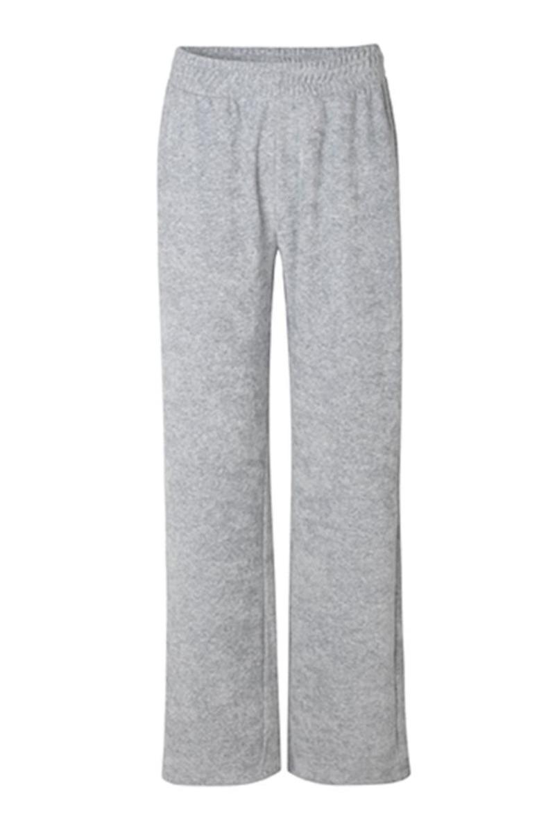 MbyM - Bukser - Sweta Pant - Light Grey Melange
