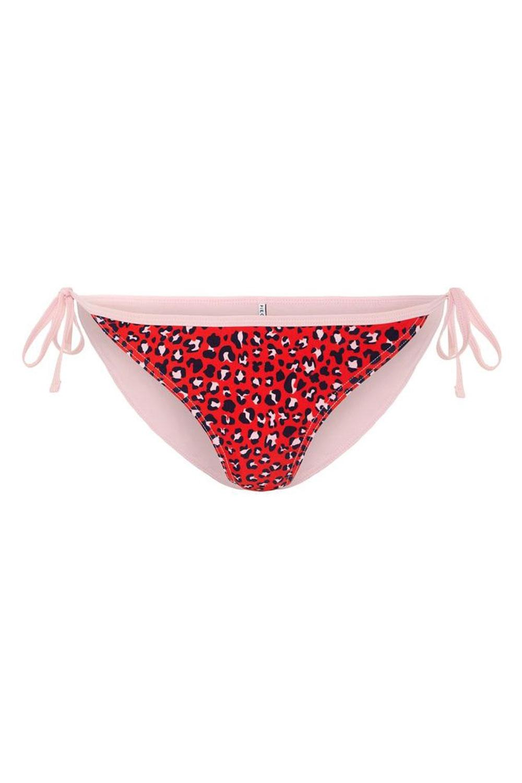 Pieces - Badetøj - PC Benedicte Bikini Brief - High Risk Red