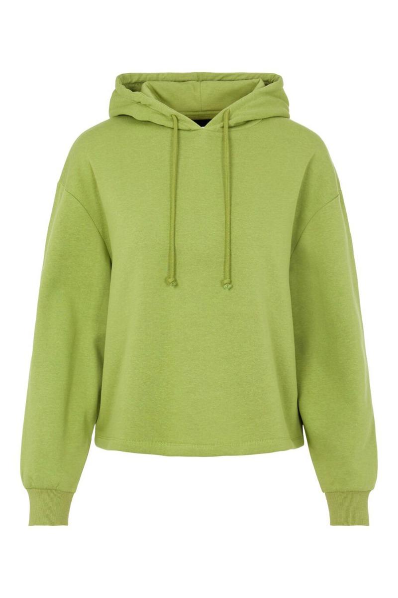 Pieces - Sweat - Chilli LS Hoodie - Turtle Green