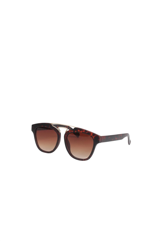 Solbriller - 1444 - Signe - Mat Havana Brown/Gold Details