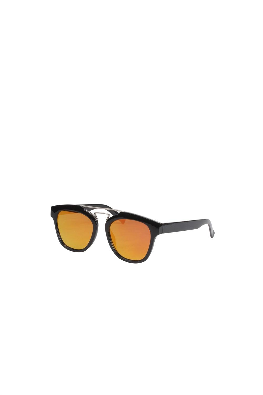 Solbriller - 1446 - Signe - Black/Silver Details/Spejlglas