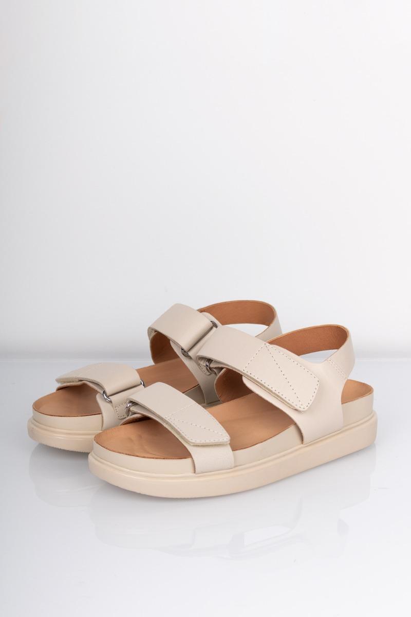 Vagabond - Sandal - Erin Velcro - Off White